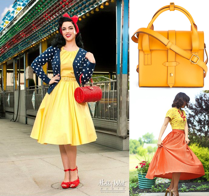 rockabilly yellow